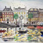 Amsterdam tekening