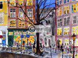 illustratie Amsterdam