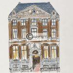 tekening Amsterdam