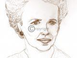 tekening portret