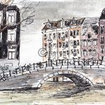 drawing Amsterdam