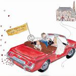 Auto trouwkaart