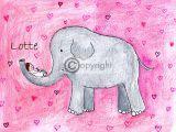olifant geboortekaart