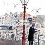 Amsterdamse lantaarnpaal