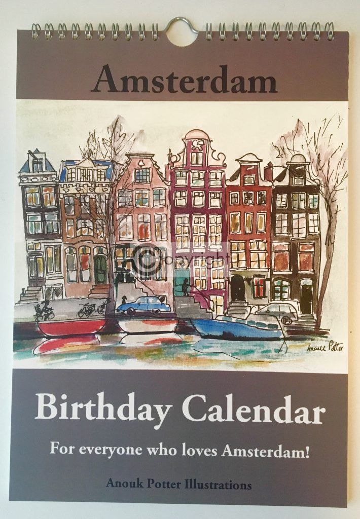 verjaardagskalender Amsterdam