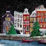 Kerstkaart Amsterdam