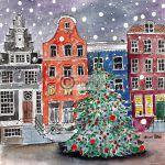 Amsterdam Kerstkaart
