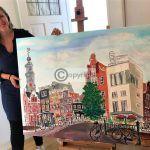 Amsterdam schilderij