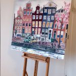 Schilderij Amsterdam