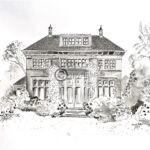 Pentekening villa