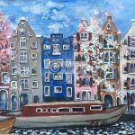 Amsterdam schilderij Brouwersgracht