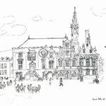 Haarlem tekening